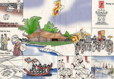 Hoạt động giao lưu văn hóa với sự phát triển khu phố cổ Hà Nội  (1)