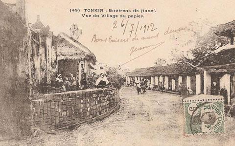 Đường và chợ làng