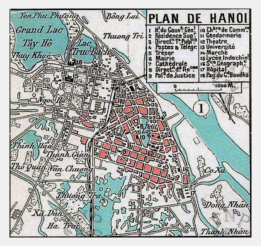 Kết quả hình ảnh cho Bản đồ Hà Nội năm 1893