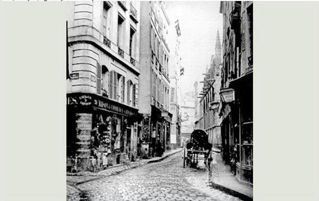dans la rue saint-séverin, un charnier abritait les tombes des notables