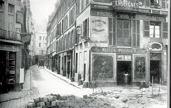 reliant le quai de montebello à la rue monge, la rue du maître albert est une